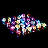 (iSmile) 光る指輪 8種類 24個入り