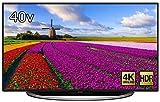 シャープ 40型 4K対応 液晶 テレビ AQUOS LC-40U45 HDR対応