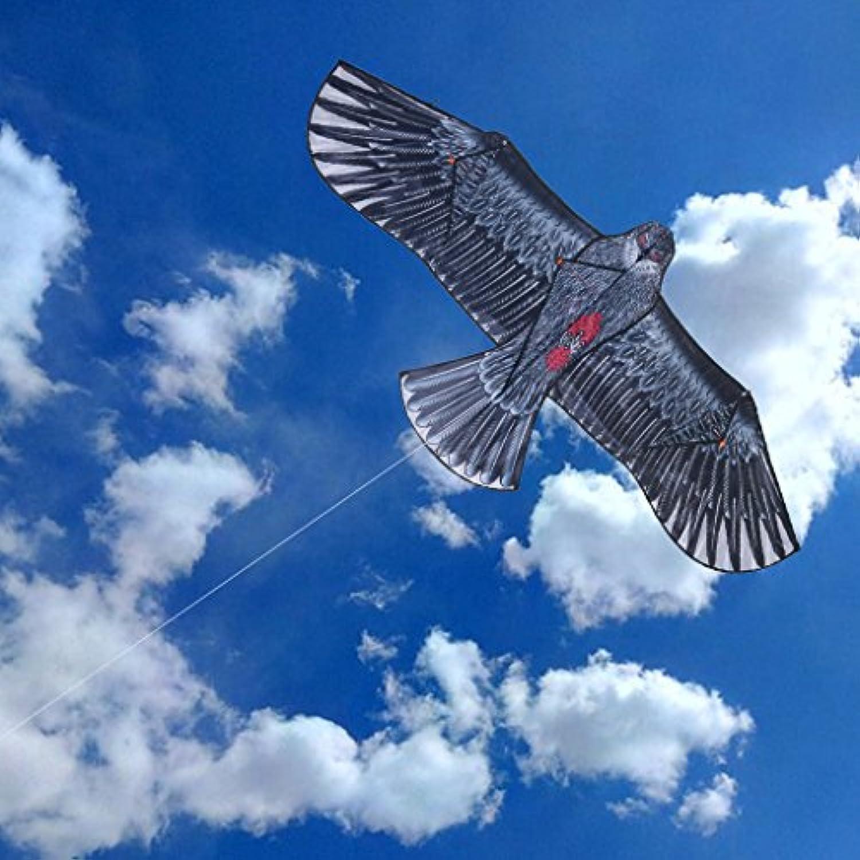 uknows 1.5 M 1.7 M Eagle Kiteアウトドアおもちゃスポーツギフトforキッズ子供大人用ホーム装飾
