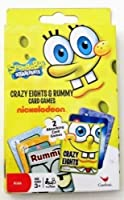 スポンジ・ボブCrazy Eights & Rummy Card Games by Nickelodeon