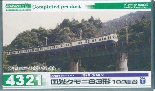 グリーンマックス<4321>国鉄クモニ83形100番台 1両単品(M無し)