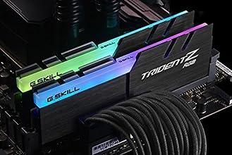 【G.skill】DDR4-3200 (PC4-25600) Trident Z RGB シリーズ F4-3200C16D-32GTZRX for AMD 32GB (16GB×2) Ryzen用 永久保証 パソコン用 増設 メモリ オーバークロック