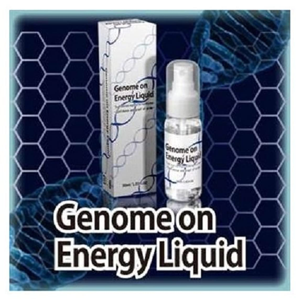 メッセンジャーいたずら耐えられるゲノムオンエナジーリキッド Genome on Energy Liquid