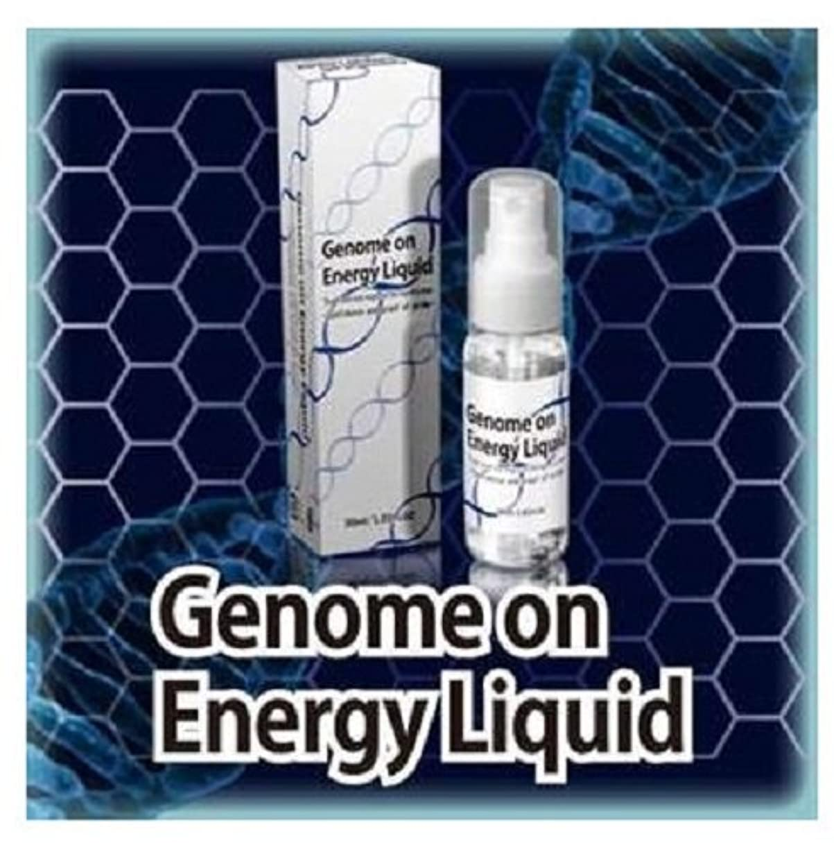 消す指紋戦いゲノムオンエナジーリキッド Genome on Energy Liquid