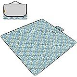 600dオックスフォード布ピクニック毛布折りたたみ屋外ビーチマットピクニックマット防水サンドキャンプキャンプハンドルピクニック敷物マット200 * 150センチ