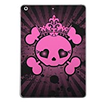iPad mini4 スキンシール apple アップル アイパッド ミニ A1538 A1550 タブレット tablet シール ステッカー ケース 保護シール 背面 人気 単品 おしゃれ 骸骨 ドクロ 王冠 011545