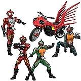 SHODO-X 仮面ライダー9 【全6種フルセット (フルコンプ)】 ※10個入りのBOXではありません。 食玩・ガム (仮面ライダー)