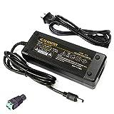 「PSE適合」ACアダプター 12V 10A 汎用ACアダプター LED テープライト・ビデオ・カメラ・監視カメラ・パソコン・車載用 AC100V→DC12V 10A 120W最大 変換アダプター AC-DCコンバーター 安定化電源 変換アダプター 変換プラグ (12V-10A)