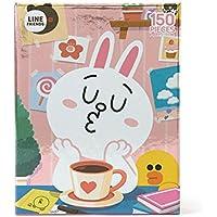 LINE FRIENDS ジグゾーパズル150PCS(メタル) コニー&サリー
