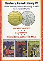 Newbery Award Library IV: Maniac Magee, Scorpions and the Move Make the Man