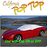 Corvette Coupe & Convertible ( 1997–2004)デュポンタイベックPoptopサンシェード、内部、コックピット、カーカバー。Use with Top On / Off、Up / Down–SEMA SHOW新しい製品Award Winner、c5、1997,1998,1999,2000,2001,2002,2003,2004