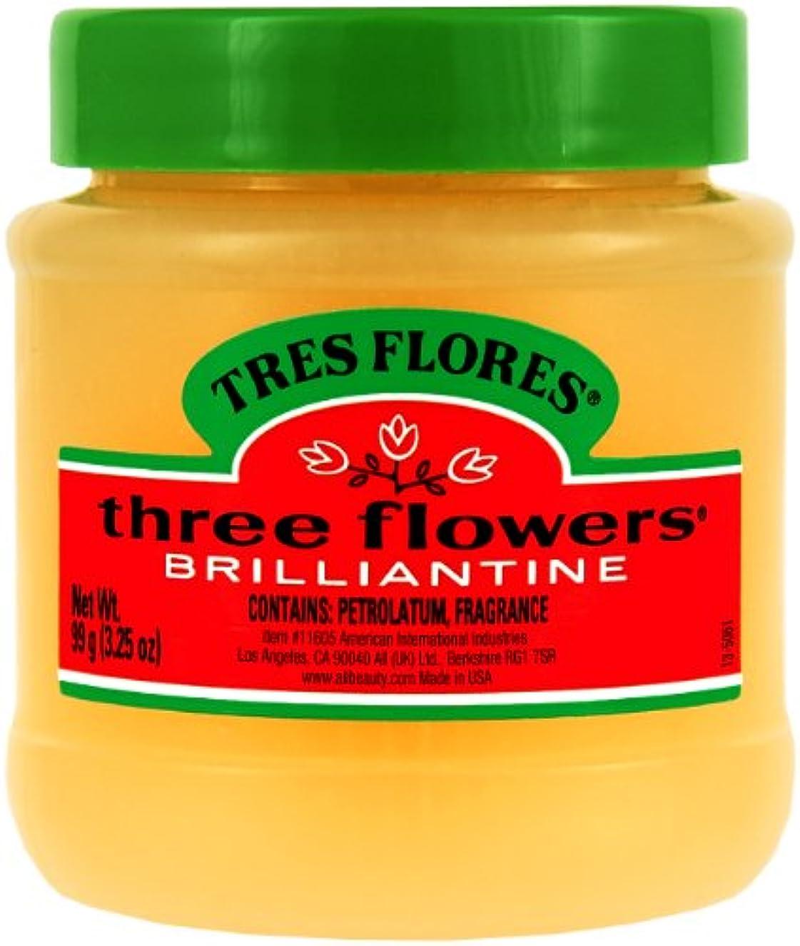 口頭イタリック高層ビルThree Flowers Brilliantine固体、3.25オンス(3パック)