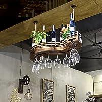 ワインラック、ワイングラスラック、バーウォールラック、ワイングラスラック、シェルフワイングラスホルダー、ワイングラスラック、ワイングラスラック、シャンパングラスラック、ガラス器具ラック (サイズ さいず : 100cm)
