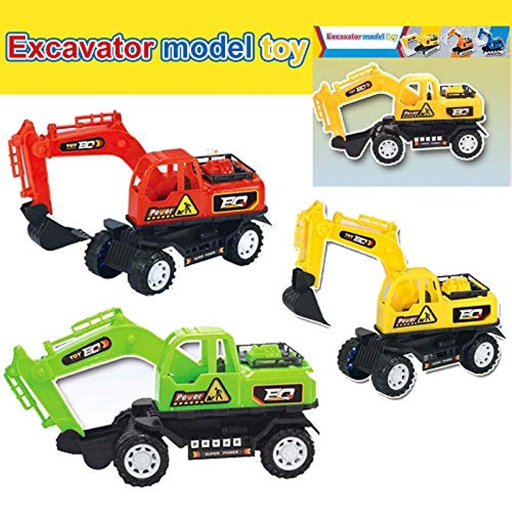 デッドロック終了するクランシーProfeel 1ピースショベルとダンプトラック、建設玩具、シミュレーションエンジニアリングカー掘削機モデルギフト、リモコントラクター玩具