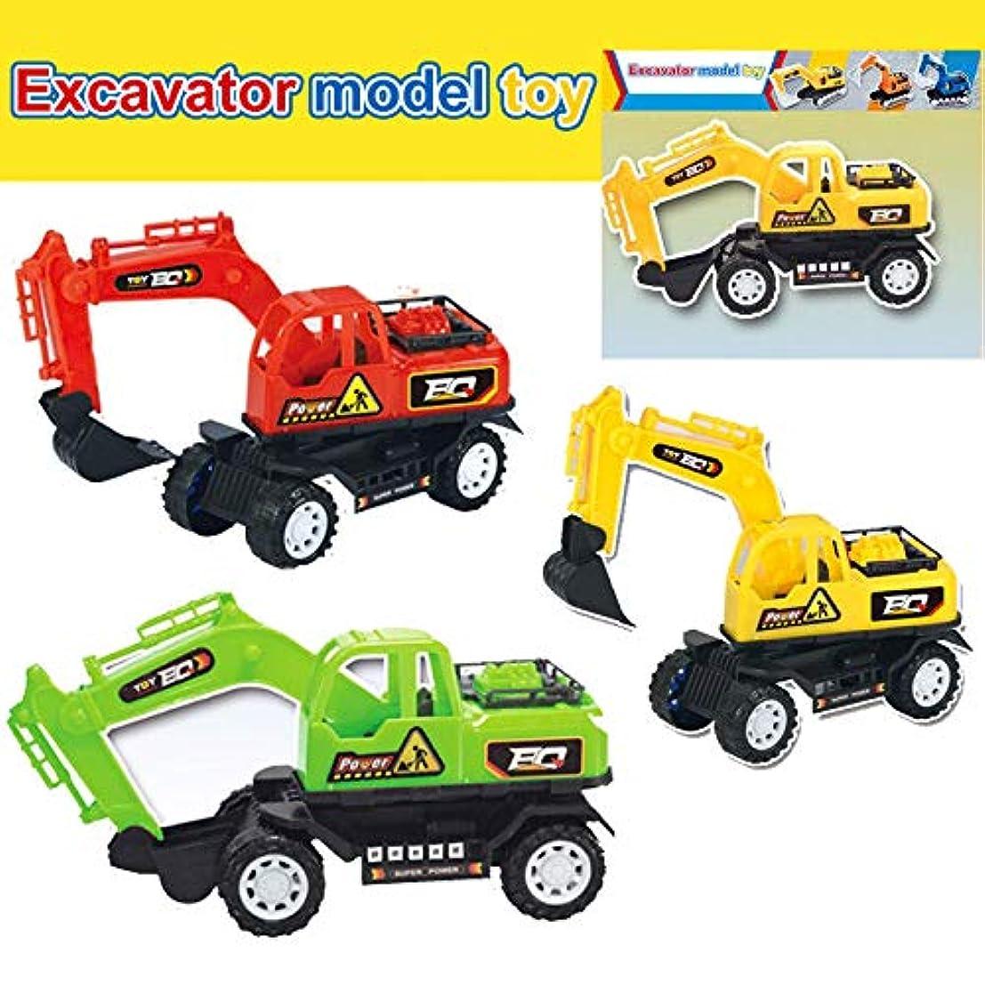 ブレーク甘味思慮深いTenflyer 1ピースショベルとダンプトラック、建設玩具、シミュレーションエンジニアリングカー掘削機モデルギフト、リモコントラクター玩具