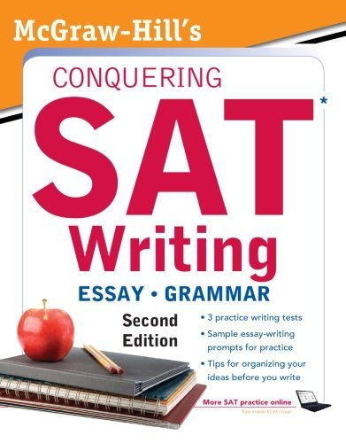Download McGraw-Hill's Conquering SAT Writing (5 Steps to a 5 on the Advanced Placement Examinations) 2nd (second) edition B006UIFM36