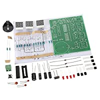 Fityle 高品質 PCB 回路基板 電子時計 アラームキット 保護 便利 6桁 DIY