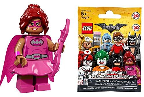 ザ・レゴ バットマン ムービー ミニフィギュア シリーズ Pink Power Batgirl (ピンクパワー・バットガール)【71017-10】