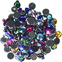 Kole Imports Multi-Color Rhinestone Set, CC290, 1/8""