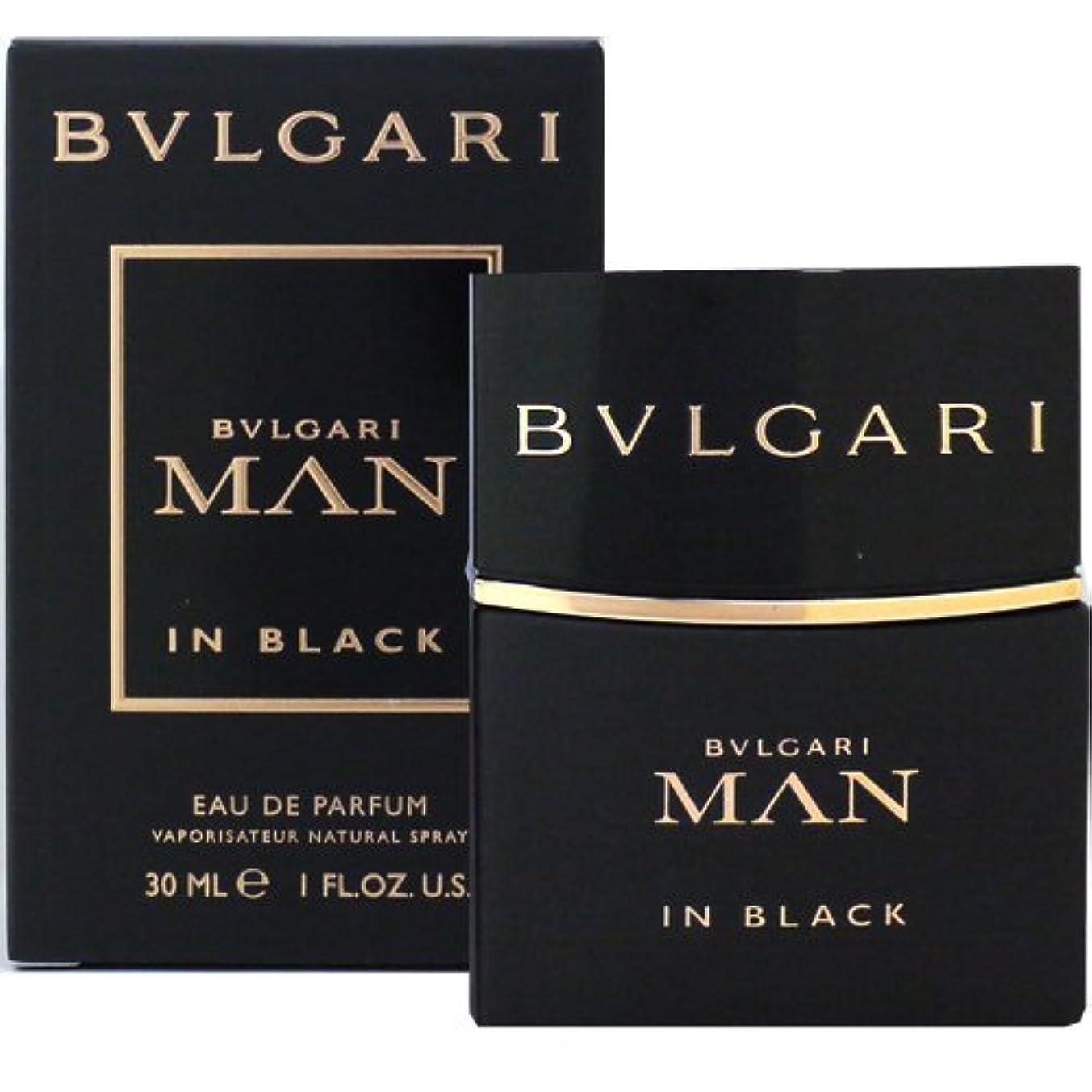 評決飽和するマグブルガリ BVLGARI ブルガリ マン イン ブラック 30ml EDP SP fs