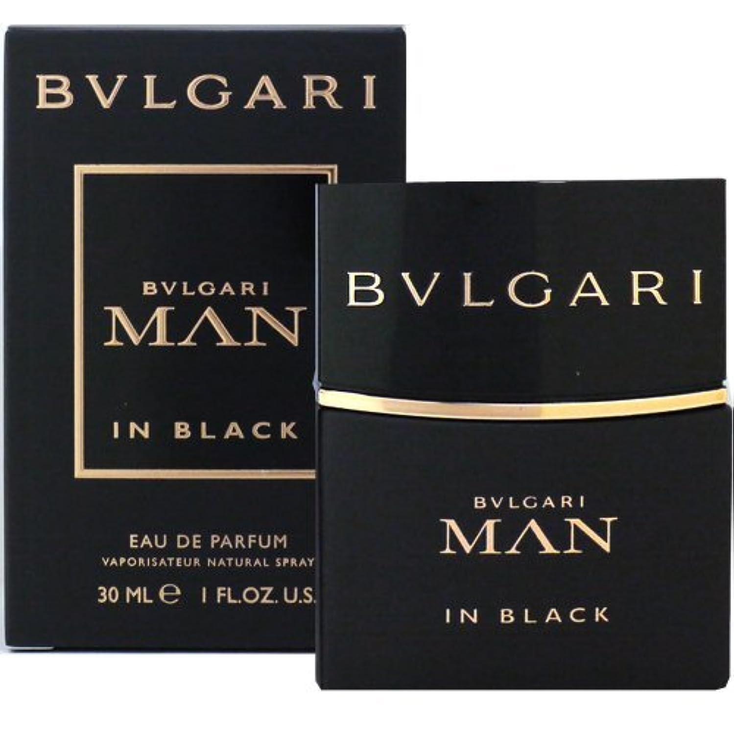 スクラブ価値のない努力するブルガリ BVLGARI ブルガリ マン イン ブラック 30ml EDP SP fs