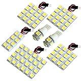 【断トツ270発!!】 ANM/ZNM10系 アイシス LED ルームランプ 7点セット [H16.9~] トヨタ 基板タイプ 圧倒的な発光数 3chip SMD LED 仕様 室内灯 カー用品 HJO