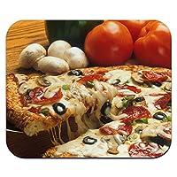 ネバネバした最高裁ピザ - キノコペパロニマウスパッド