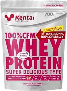 Kentai 100%CFMホエイプロテイン スーパーデリシャスタイプ フレッシュアップル 700g