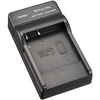 NinoLite USB型 バッテリー 用 充電器 海外用交換プラグ付 カシオ NP-40 対応 バッテリー チャージャー