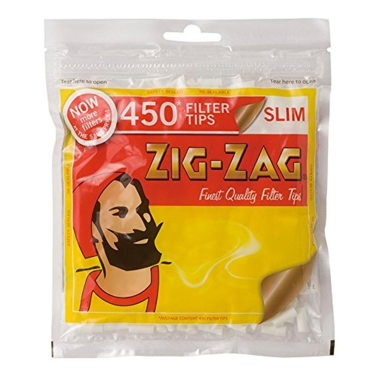 塊発症個性ZIG-ZAG(ジグザグ) スリム フィルター 450 直径6mm 約450個入り #78868