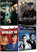 Daniel Radcliffe Movies 4-Film - What if/My boy Jack/A young Doctor's Notebook/Harry Potter and the Order of the Phoenix【DVD】 [並行輸入品]