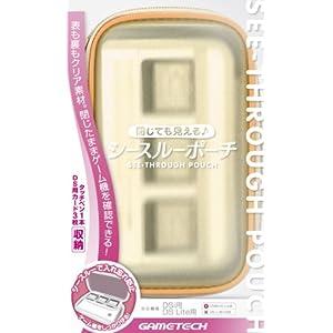 DSi/DSLite用ポーチ『シースルーポーチ(クリアオレンジ)』