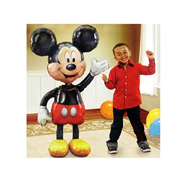 ジャンボ誕生日ホイルバルーンミッキーマウスAirウォーカー52