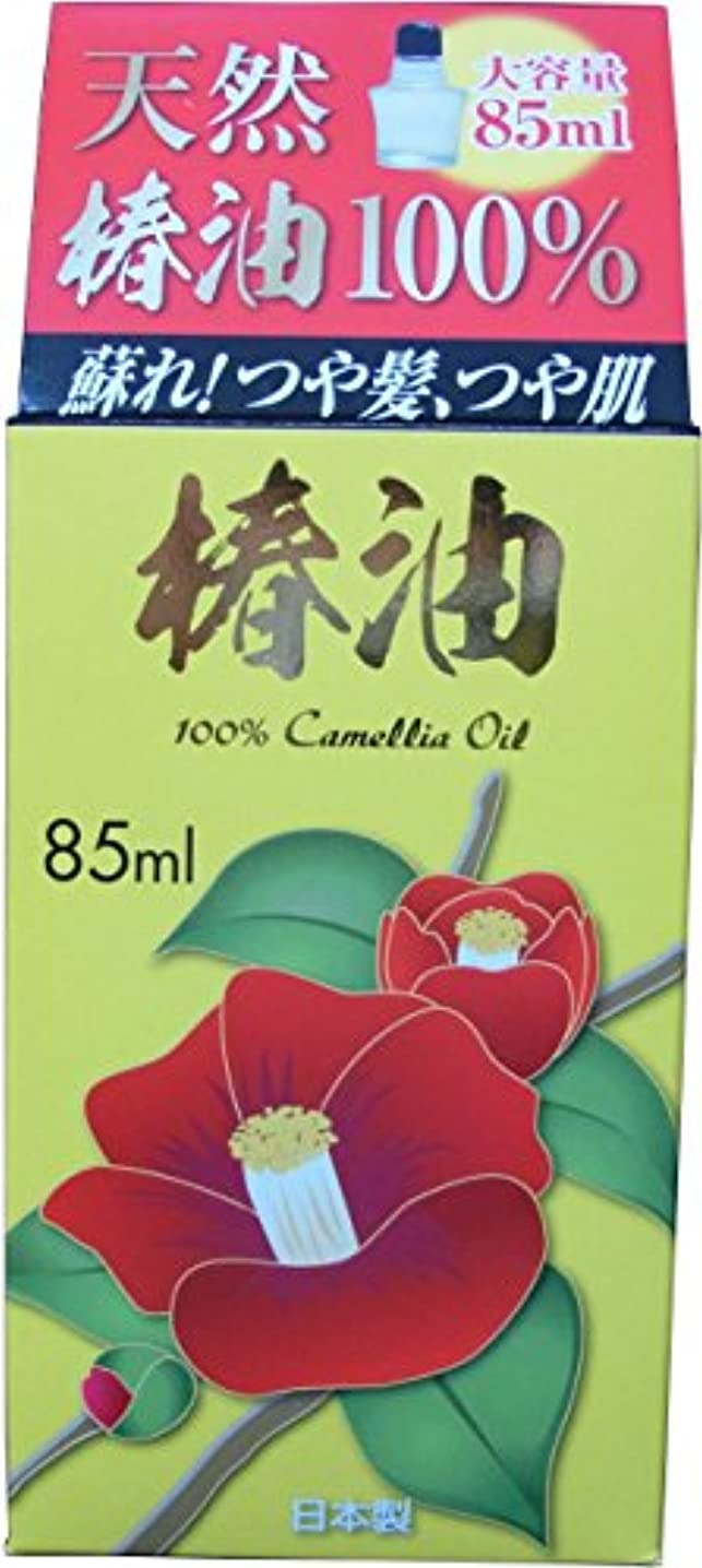 喜ぶシャックル健康ABS椿油 (天然カメリアオイル100%) 85ml