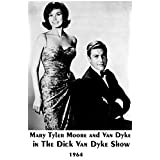 メアリー・タイラー・ムーア& Van Dyke in the Dick Van Dyke Show 1964Rare one-pageポスター