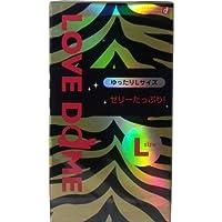 潤滑剤スタンダードタイプ!オカモト LOVE DOME(ラブドーム) タイガーコンドーム Lサイズ 12個入【5個セット】