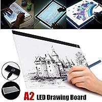 ライトボックス トレース USB A2 LEDボード アーティスト タトゥー ステンシル ドローイングボード パッド テーブル アクリル素材 デジタルタブレット 子供向けギフト
