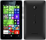Microsoft Lumia 532 UNLOCKED RM-1032 Dual Sim Windows Phone 2G GSM 850/900/1800/1900MHZ, WCDMA 850/900/1900/2100MHZ (Black) [並行輸入品]