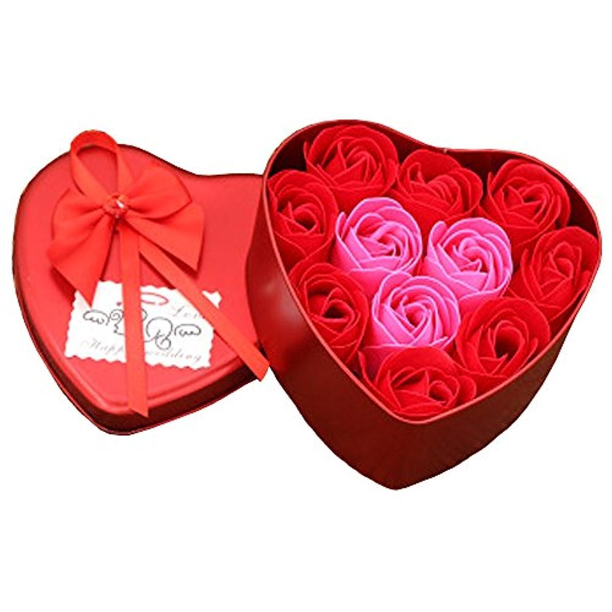 治安判事寛容な修理可能iCoole ソープフラワー 石鹸花 ハードフラワー形状 ギフトボックス入り 母の日 バレンタインデー お誕生日 ギフト