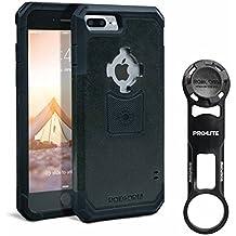 ROKFORM [iPhone 7 & 8 Plus] PRO-LITE Bike Mount, Aircraft Grade Aluminum with Rugged Case, Black