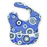 バンキンス スーパービブ/スタイ 洗濯機でも洗える お食事用防水ビブ 6~24ヶ月 Blue Fizz(ブルー) S-430