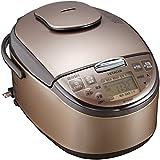 日立 炊飯器 圧力IH式 5.5合 ライトブラウン RZ-YG10M T