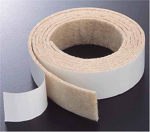 床のキズ防止テープ
