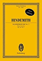 Kammermusik No. 2 Op. 36 No. 1 Chamber Music No. 1: Eulenburg Study Score