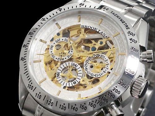 [ブルッキアーナ] BROOKIANA 腕時計 メンズ 自動巻き BA1640-GPWH [並行輸入品]