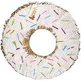 apinata4uホワイトドーナツ形状砂糖ドーナツPinataパーティーFavor