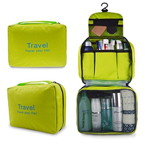 [해외]Refoss 욕실 파우치 여행 파우치 매달려 후크 세면 도구 넣어 수납 가방 화장품 가방 화장품 파우치 소품 정리 여행 출장 화장품 파우치 남녀 겸용/Refoss Bathroom Pouch Travel Pouch Hanging Hooked Toilet Equipment Bag Storage Bag Toiletry B...