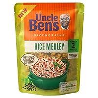 叔父ベンの全粒米メドレーライス220グラム - Uncle Ben's Wholegrain Rice Medley Rice 220g [並行輸入品]