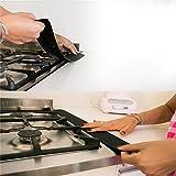 Liebeye ガスストーブギャップ 油防止 ストライプ 防油シール ストリップ キッチン用品 53.5cm*5.6cm 1PCS