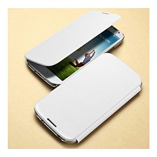 SGP GALAXY S4 用 ケース Ultra Flip Wallet Case ウルトラ フリップ ウォレット ケース カードポケット 付き メタリック ホワイト [並行輸入品]